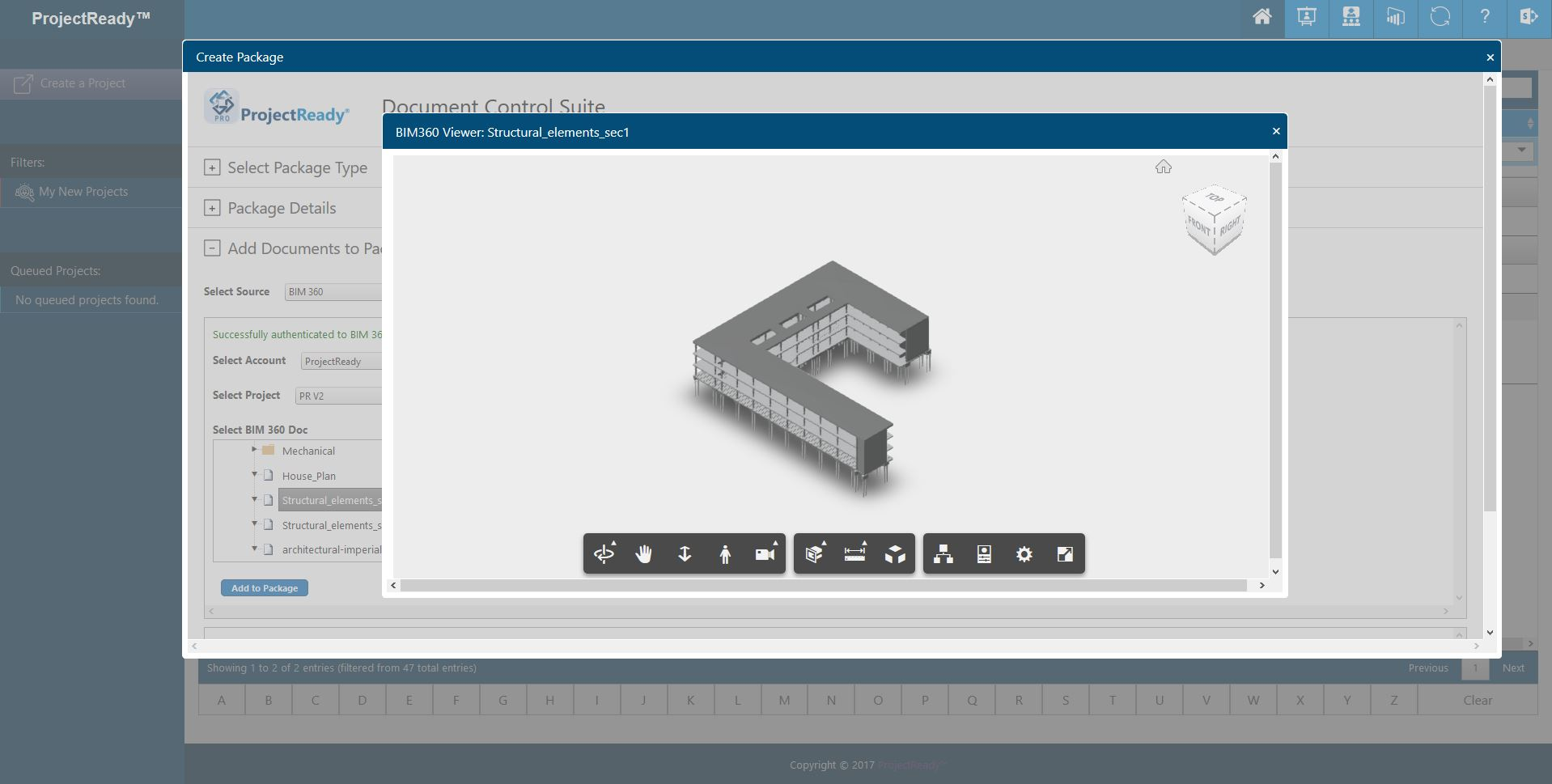 ProjectReady-Central-Screenshot-BIM 360 Preview