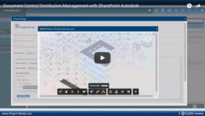 Video Image - Document Control Distribution _ Management with SharePoint _ Autodesk