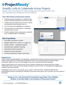 ProjectReady-Document Control-Brochure